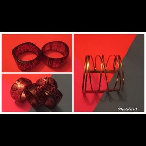 Jewelry - Lucite and Metal